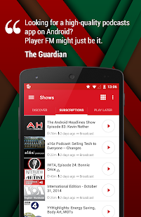 Player FM Podcast App- screenshot thumbnail