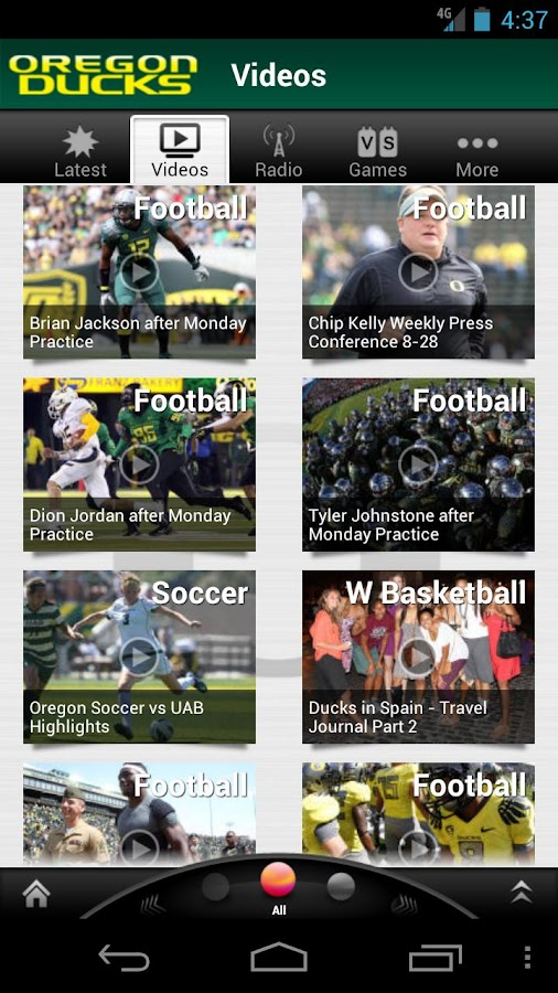 Oregon Ducks: Free - screenshot