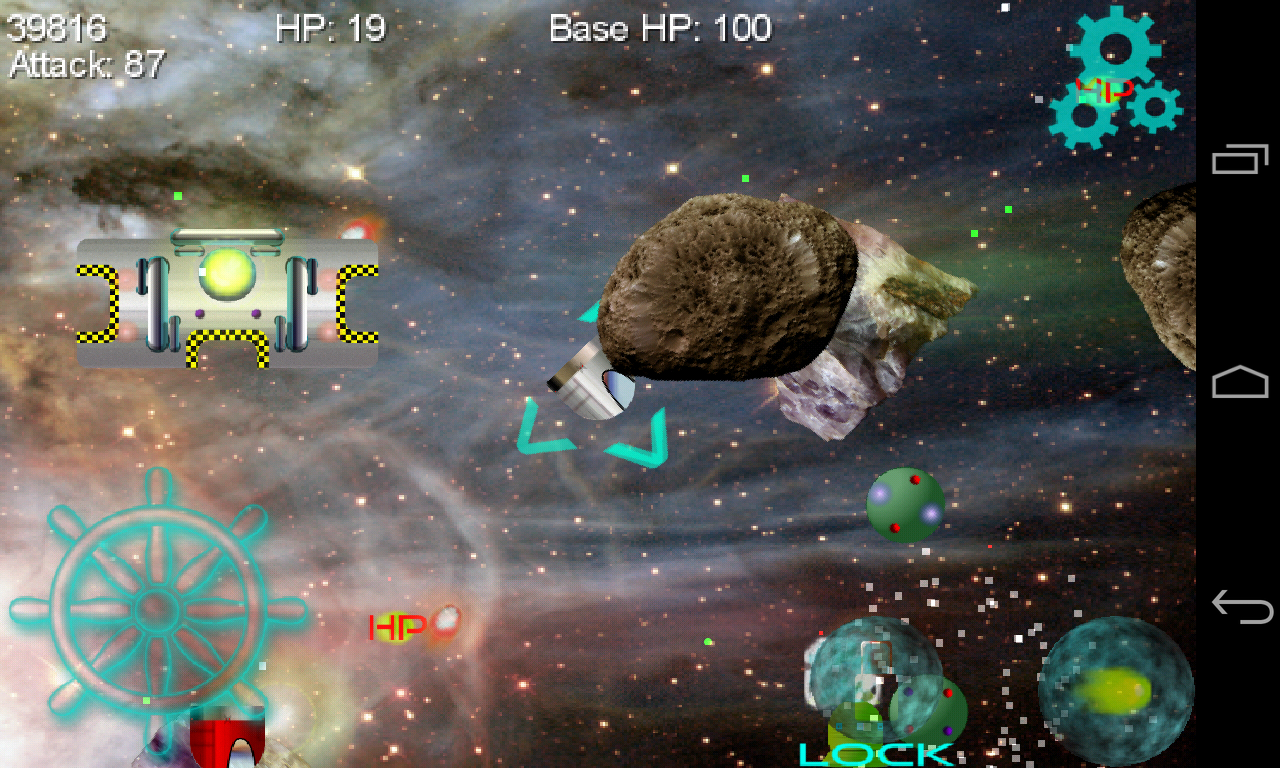 Cosmic Defense - screenshot