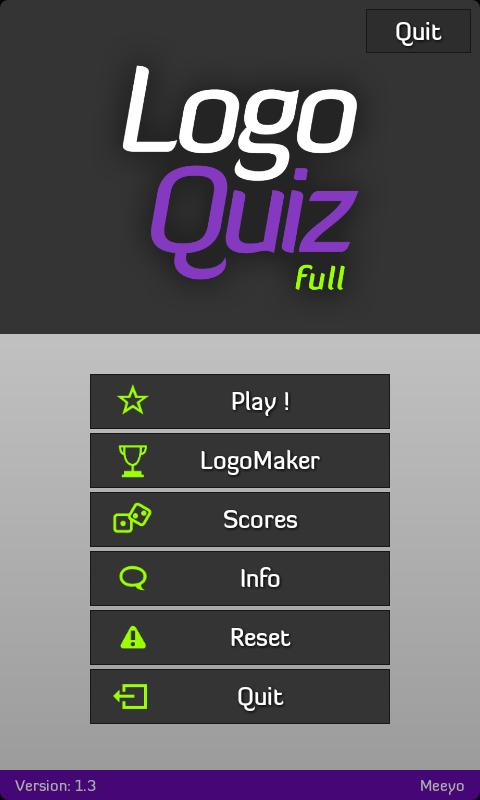 Logo Quiz full - screenshot