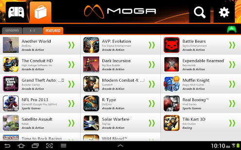 MOGA Pivot - screenshot thumbnail