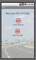 Screenshot of MTC Offline