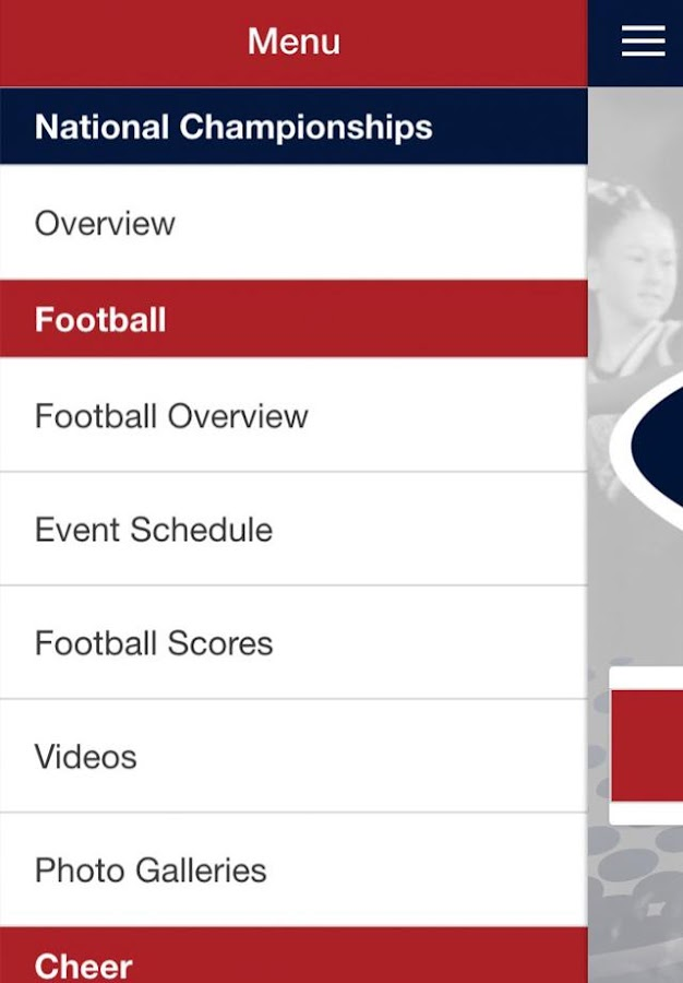 Pop Warner Official App- screenshot