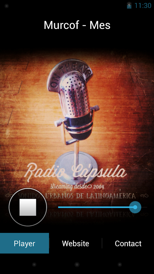 Radio Capsula - screenshot