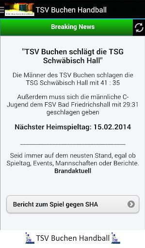 TSV Buchen Handball
