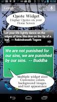 Screenshot of India Quotes