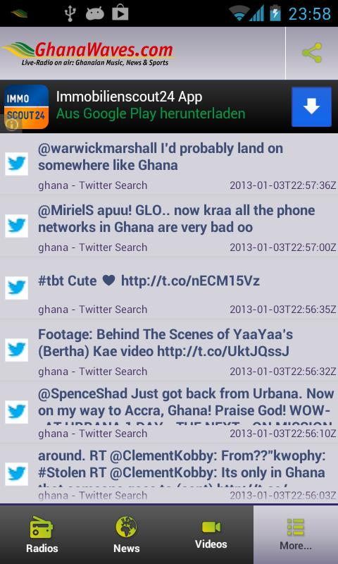 Ghana Radio Stations & News - screenshot