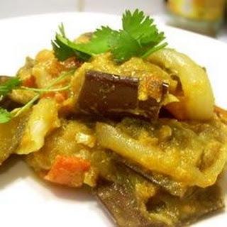 Baingan Bharta (Eggplant Curry).
