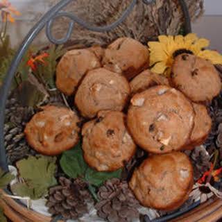 Whole Wheat Apple Muffins.