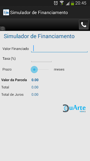 Simulador de Financiamento