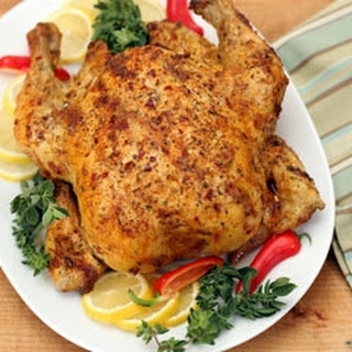 Whole Chicken with Spices