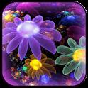 4D Neon Flowers icon