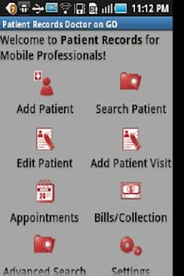 Patient Records Doctor ON GO-T- screenshot thumbnail