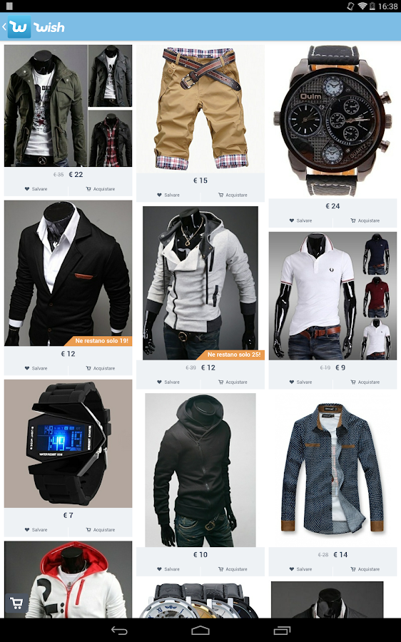 Wish - Lo shopping divertente- screenshot