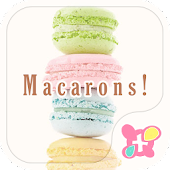 icon & wallpaper-Macarons!-