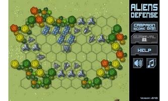 Screenshot of Aliens Defense