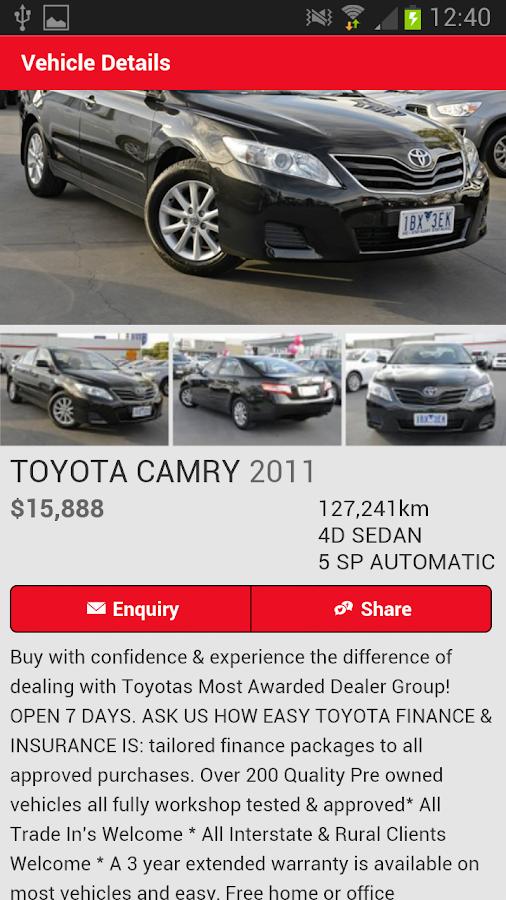Frankston Toyota - screenshot