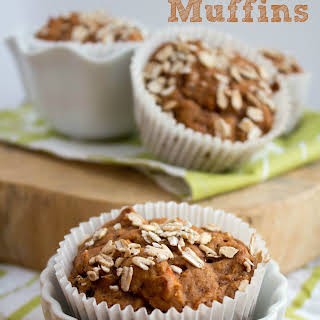 Whole Wheat Carrot Cake Muffins.