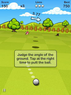 Putt Golf FREE- screenshot thumbnail