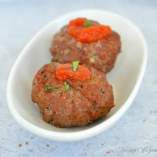 Freezer Friendly Homemade Meatballs.