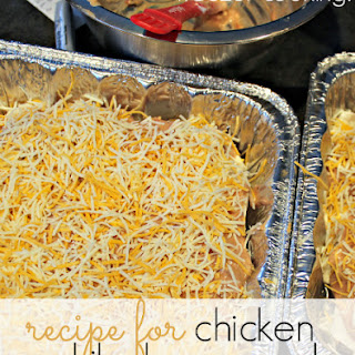 Recipe for Chicken Enchilada Casserole.