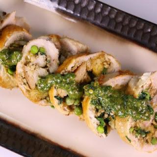 Stuffed Chicken with Salsa Verde
