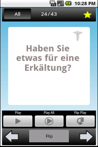 Phrase: Learn German- screenshot