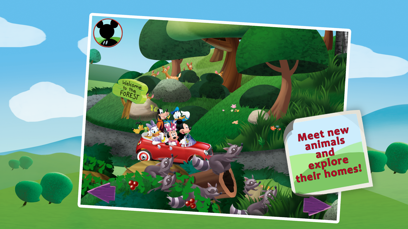Mickey's Wildlife Count Along - screenshot