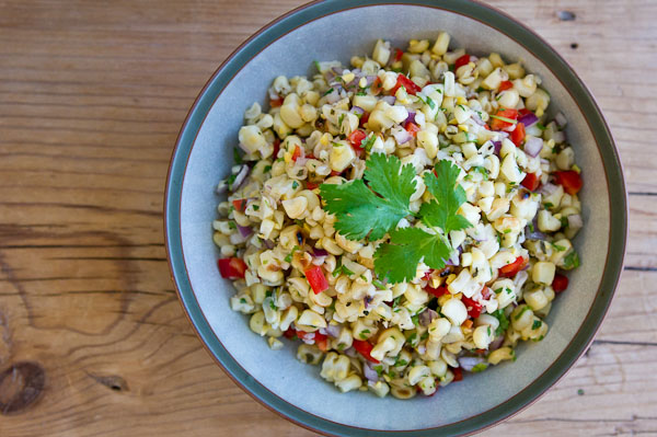 Fire Roasted Corn Salsa Recipe