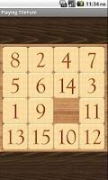 Screenshot of TileFun Slide Puzzle