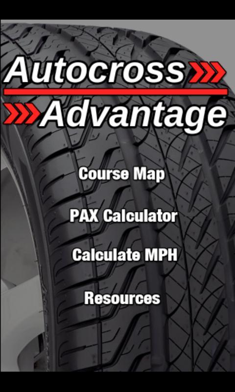Autocross Advantage- screenshot