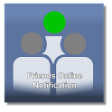 Online Notifier For Facebook icon