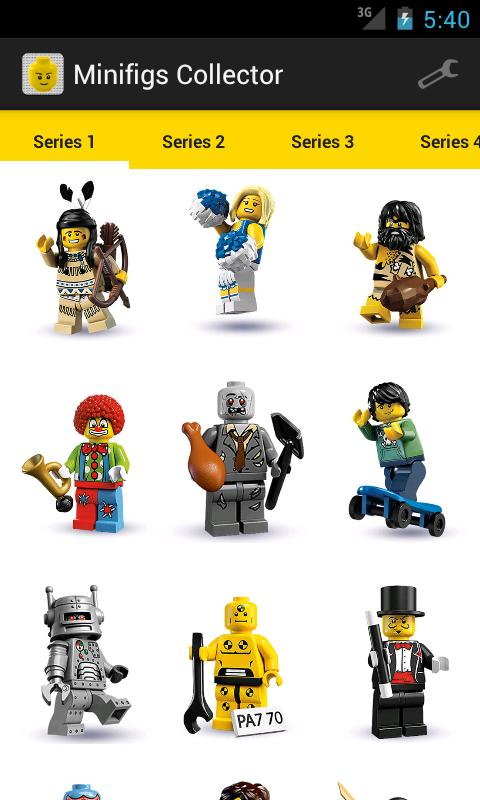 Minifigs Collector for LEGO®- screenshot