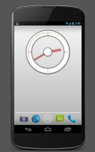 Analog Clock 1 - UCCW skin - screenshot thumbnail