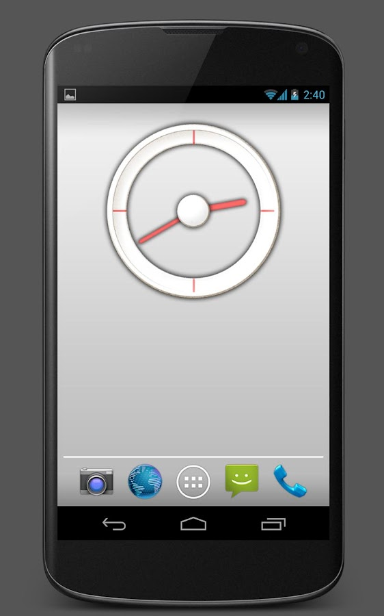 Analog Clock 1 - UCCW skin- screenshot