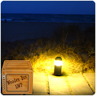 night beach lamp LWP icon
