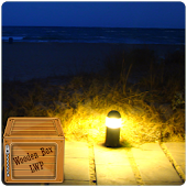 night beach lamp LWP