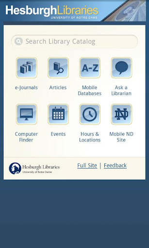 Hesburgh Libraries Mobile