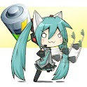 Chibi Vocaloid Battery Widget logo