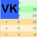 VK Výčetka icon