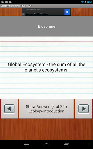 玩免費教育APP 下載Ecology Flashcards Plus app不用錢 硬是要APP