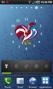 Puerto Rico Rooster Clock- screenshot thumbnail