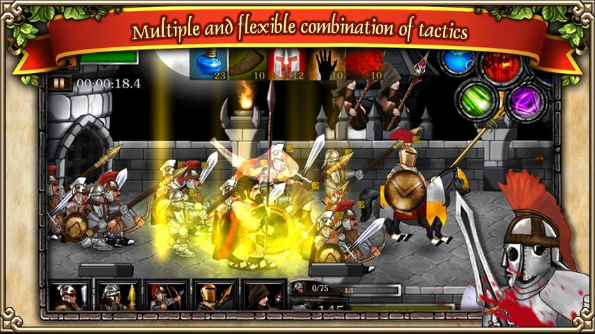 Spartans vs Zombies defense - screenshot