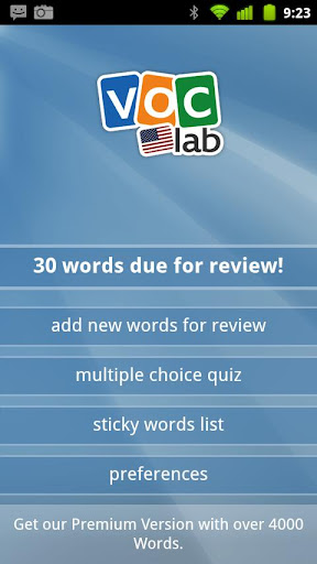 Learn English US Flashcards