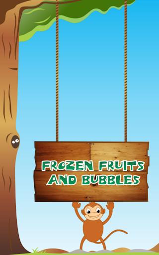 frozen fruits bubbles