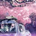 浪漫樱花飘零主题动态壁纸 icon