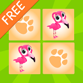 Kids Animals Memory Game Free