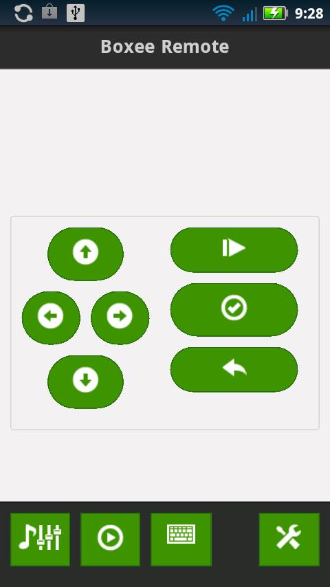 Boxee Remote - screenshot