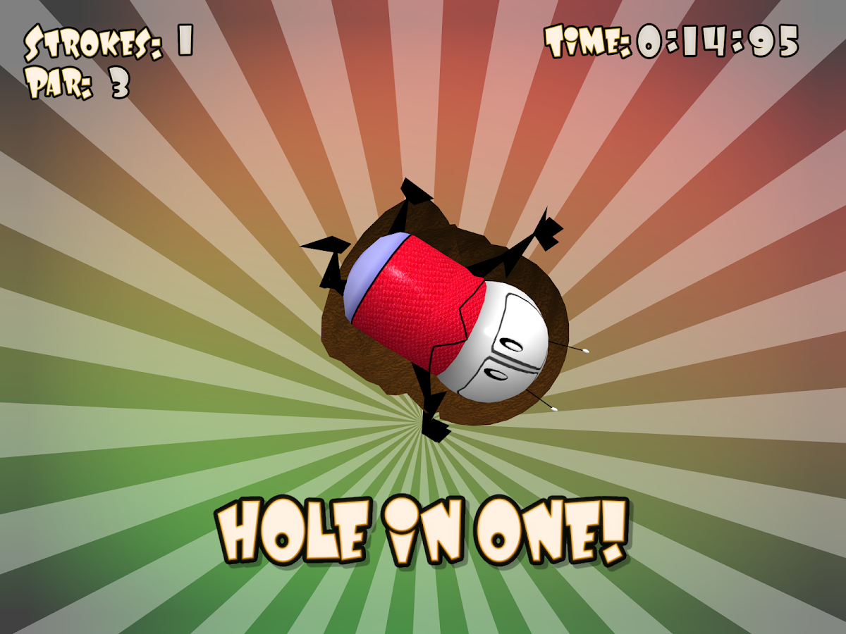 Roly Poly Putt- screenshot