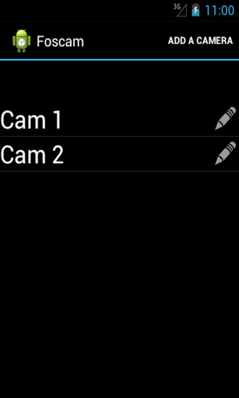 CamViewer for Foscam & Heden - screenshot